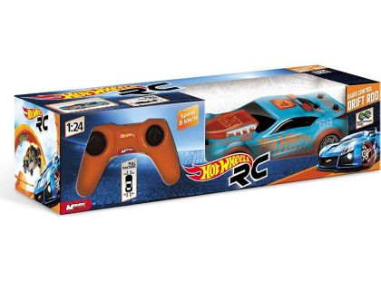 Hot Wheels RC Drift Rod 1:24 - Modrá