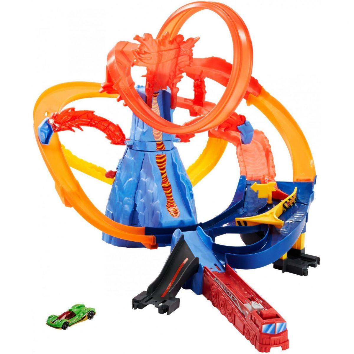 Hot Wheels sopečná trať