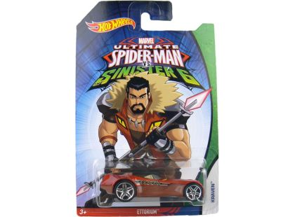 Hot Wheels Spiderman Autíčko - Ettorium Kraven