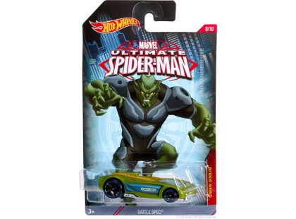 Hot Wheels Spiderman Autíčko - Green Goblin