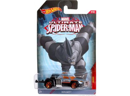 Hot Wheels Spiderman Autíčko - Rhino