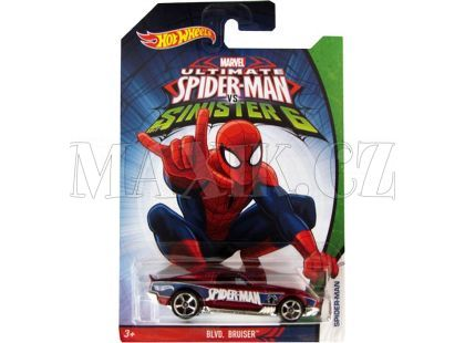 Hot Wheels Spiderman Autíčko - BLVD. Bruiser