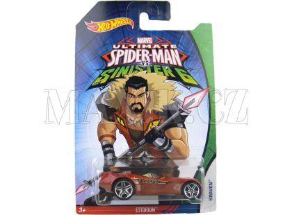 Hot Wheels Spiderman Autíčko - Ettorium Kraven