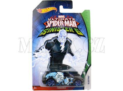 Hot Wheels Spiderman Autíčko - Fandango Electro