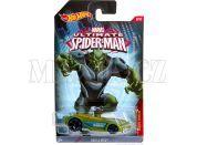 Hot Wheels Spiderman Autíčko - Green Goblin