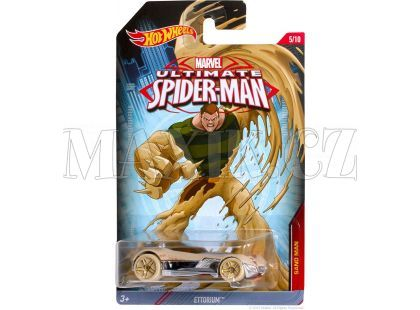 Hot Wheels Spiderman Autíčko - Sand Man