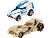 Hot Wheels Star Wars 2ks autíčko - Battle Droid a Clone Trooper