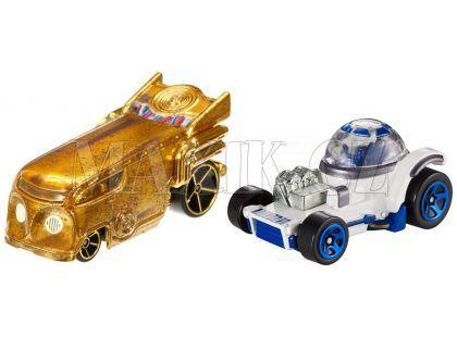 Hot Wheels Star Wars 2ks autíčko - C-3PO a R2-D2