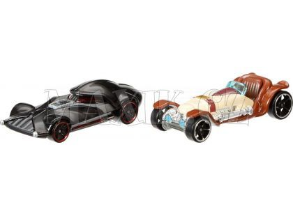 Hot Wheels Star Wars 2ks autíčko - Obi-Wan Kenobi a Darth Vader