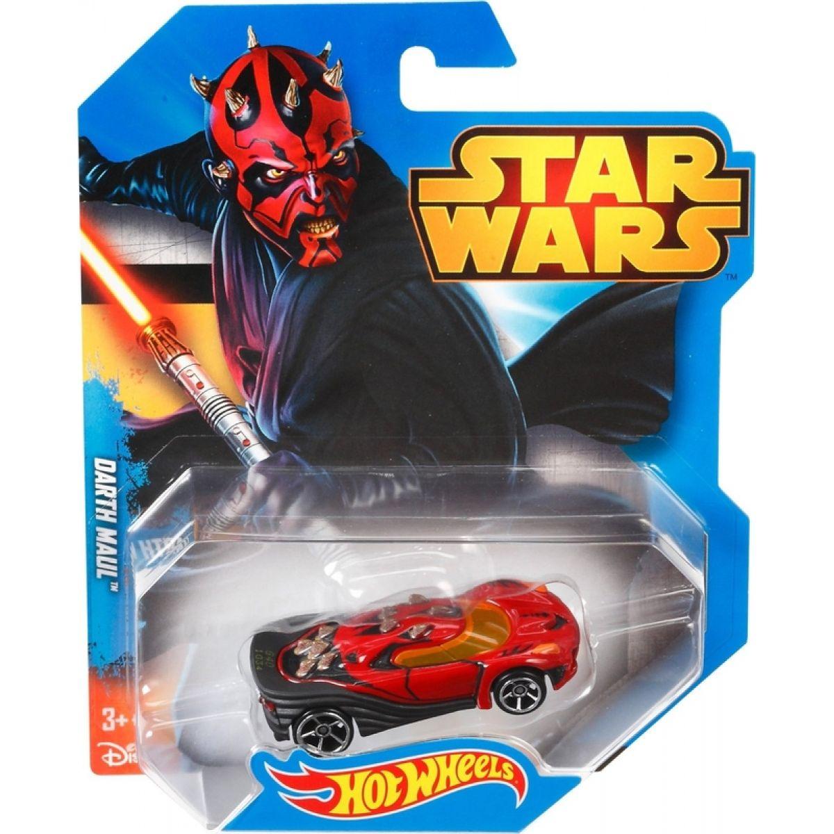 Hot Wheels Star Wars Autíčko - Darth Maul #2