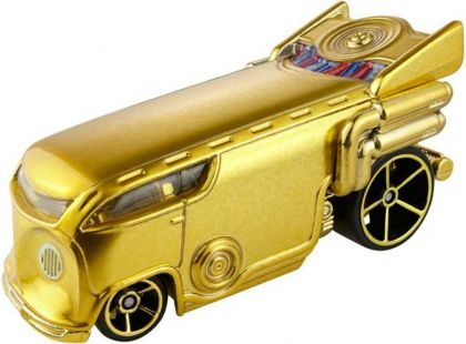 Hot Wheels Star Wars Character cars angličák - C-3PO DXP31