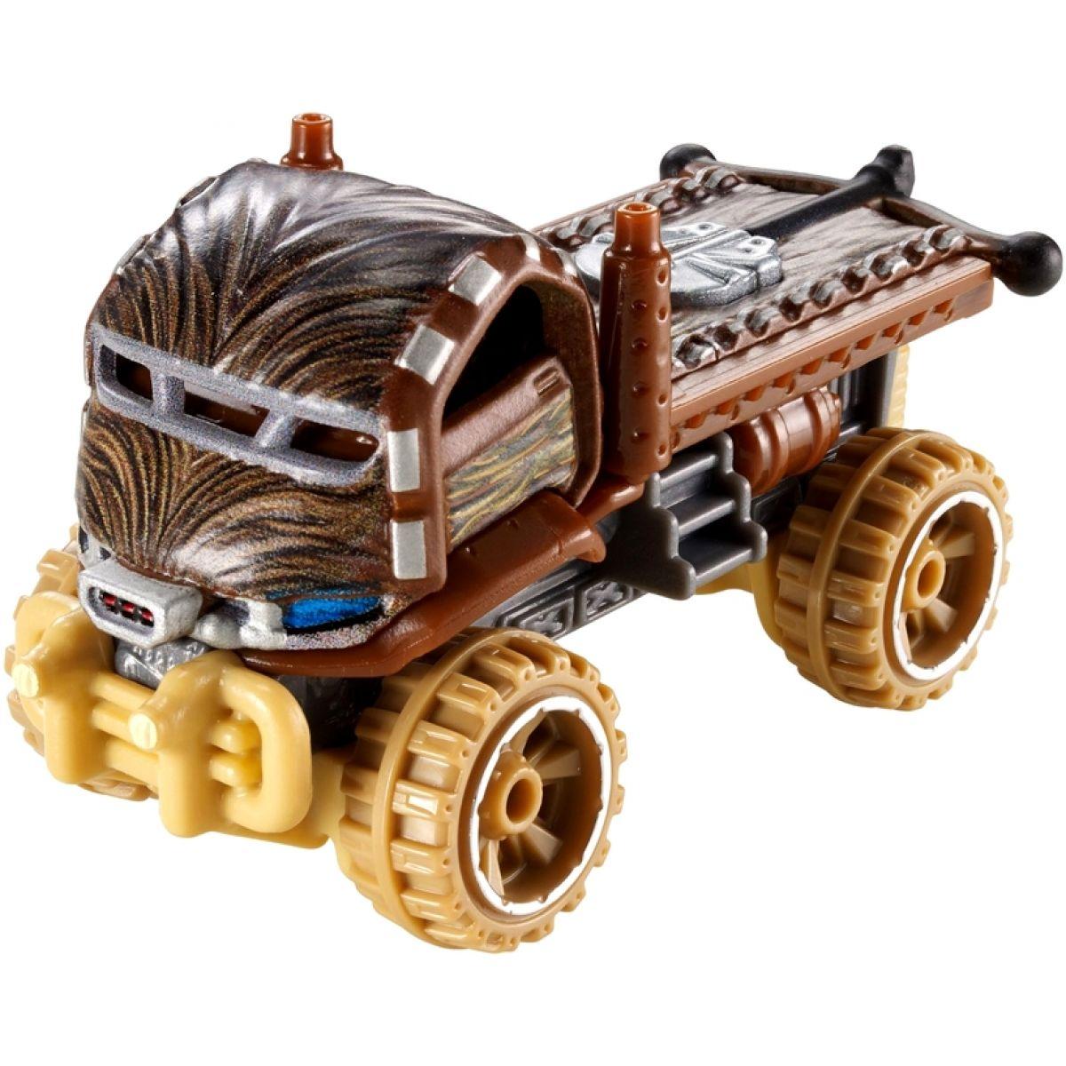 Hot Wheels Star Wars Character cars angličák - Chewbacca DXP43