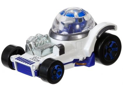 Hot Wheels Star Wars Character cars angličák - R2-D2 DXP42
