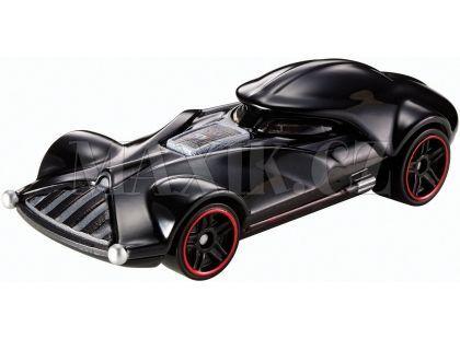 Hot Wheels Star Wars Character cars angličák - Darth Vader DXP38