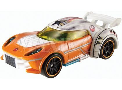 Hot Wheels Star Wars Character cars angličák - Luke Skywalker DXP41