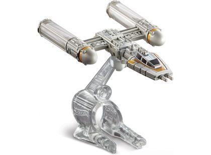 Hot Wheels Star Wars Kolekce hvězdných lodí - Y-Wing Fighter