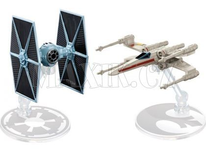 Hot Wheels Star Wars Starship - Tie Fighter vs. X-Wing Fighter DYH44