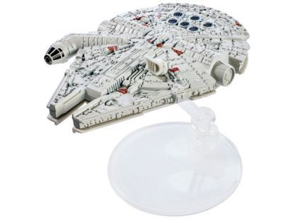 Hot Wheels Star Wars Starship 1ks - Millennium Falcon DXX45