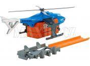 Hot Wheels Super akce - Helikoptéra S.W.A.T.