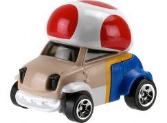 Hot Wheels Super Mario angličák Toad