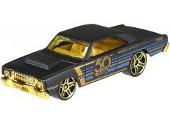 Hot Wheels Tématické auto - 50. let výročí Black & Gold 68 Dodge Dart
