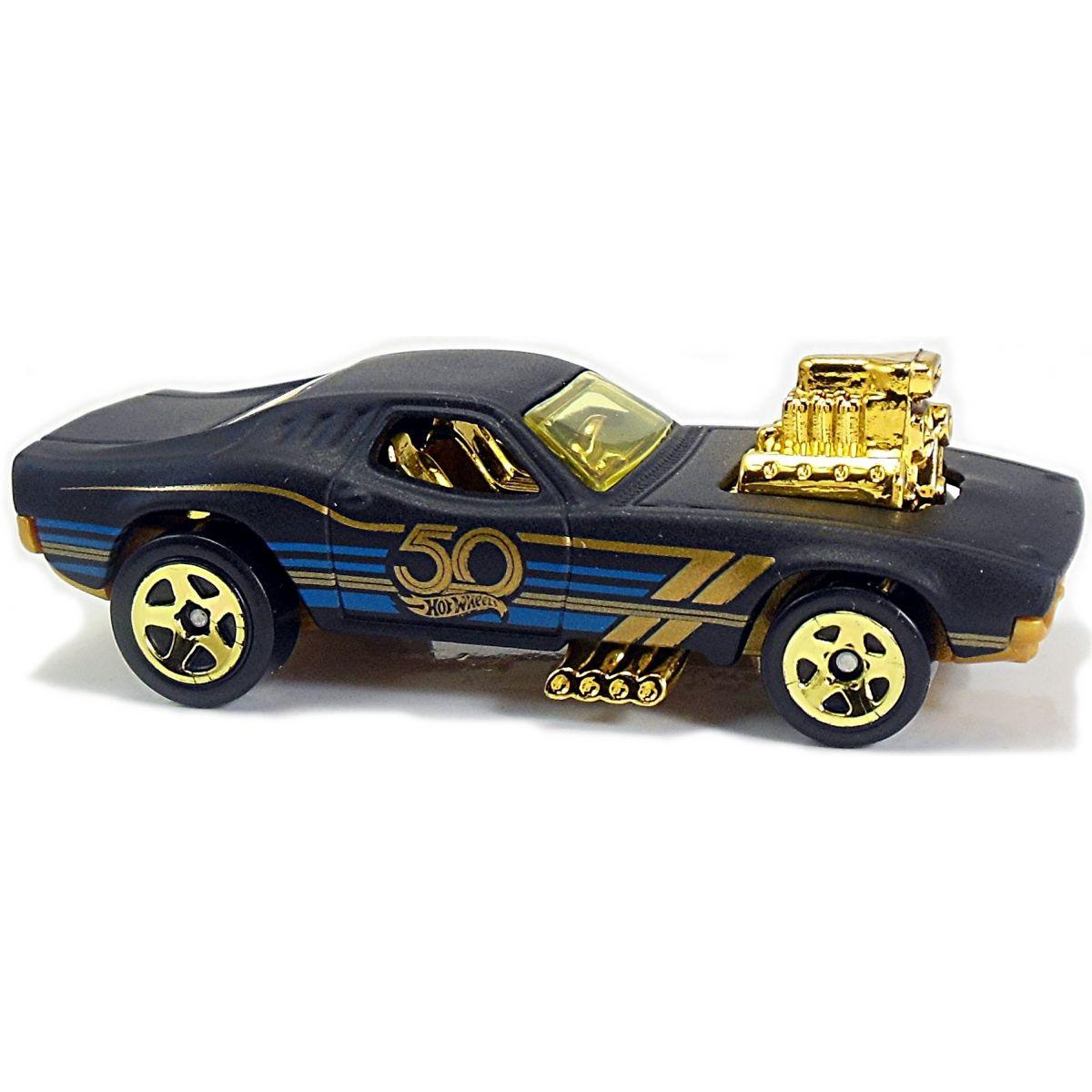 Hot Wheels Tématické auto - 50. let výročí Black & Gold Rodger Dodger