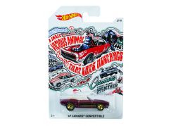 Hot Wheels Tématické auto - Prémiová kolekce 69 Camaro Convertible
