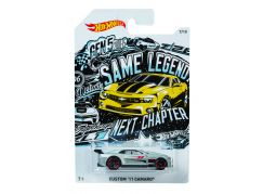 Hot Wheels Tématické auto - Prémiová kolekce Custom 11 Camaro