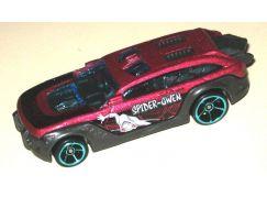 Hot Wheels tématické auto - Spiderman HW Pursuit