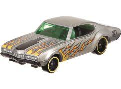 Hot Wheels Tématické auto Zamac Flames 68 Olds 442