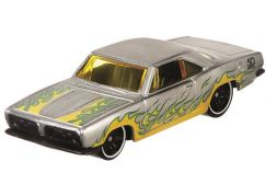 Hot Wheels Tématické auto Zamac Flames 68 Plymonth Barracuda Formula S