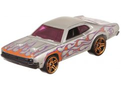 Hot Wheels Tématické auto Zamac Flames 71 Dodge Demon