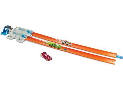 Hot Wheels Track builder doplňky a dráhy - DJD68 2-Lane Launcher