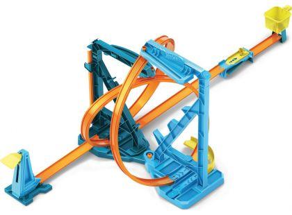 Hot Wheels track builder nekonečná smyčka herní set