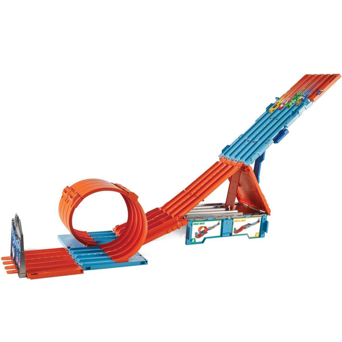 Hot Wheels track builder závodní klec