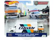 Hot Wheels týmový náklaďák Nissan Laurel 200 SGX Sakura Sprinter 2