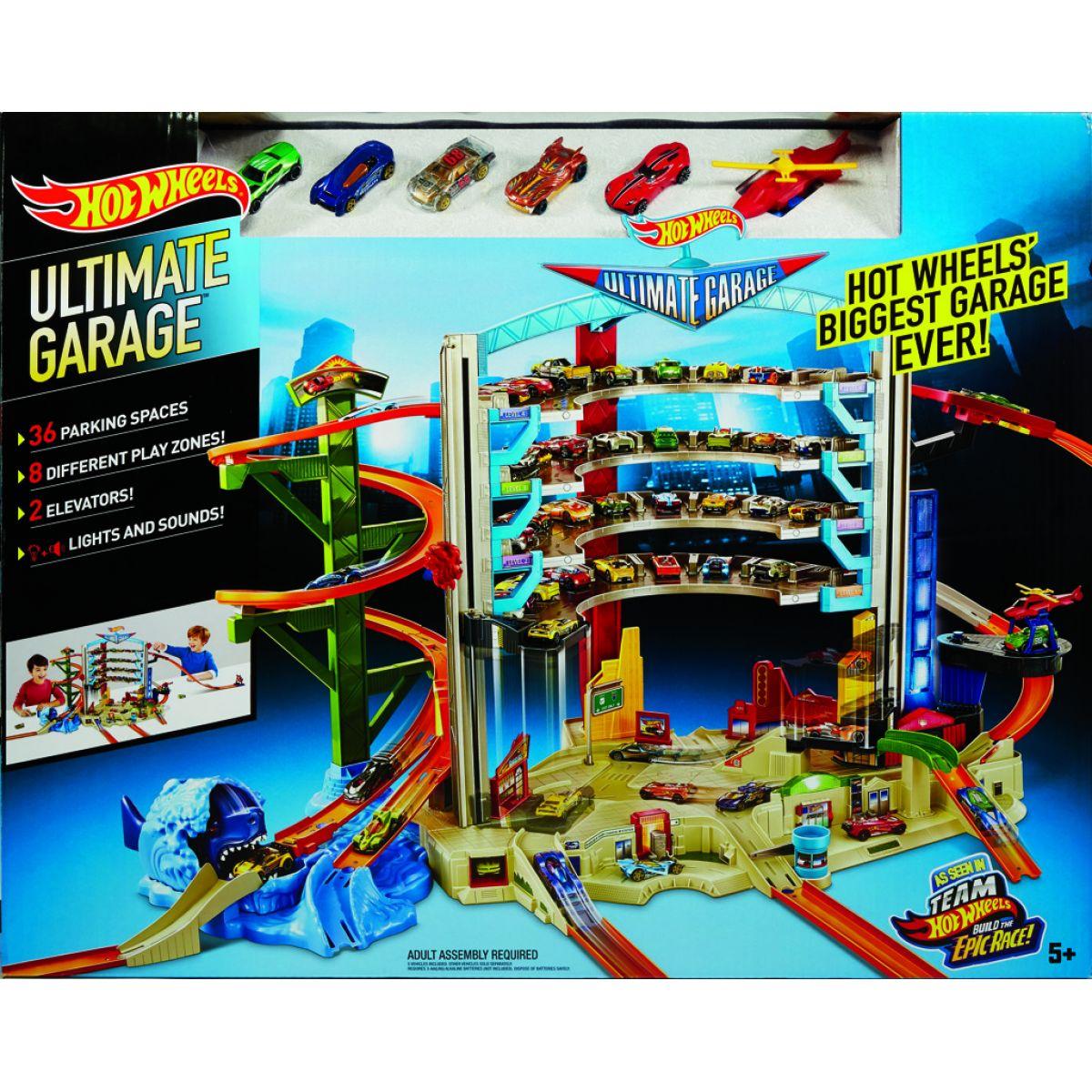 Hot Wheels Ultimátní mega garáž #3