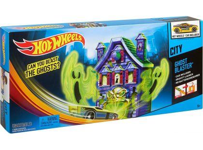 Hot Wheels X2604 Hrací sady speciálních efektů - Vymítač duchů