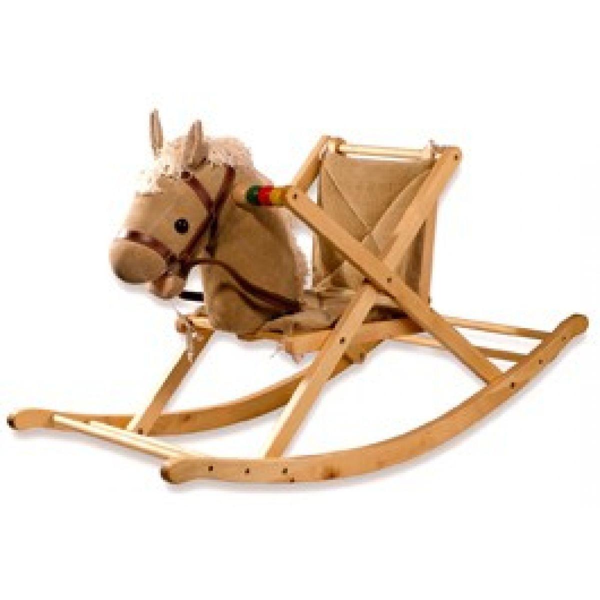 Houpací kůň slátkovým sedlem Bino 82538