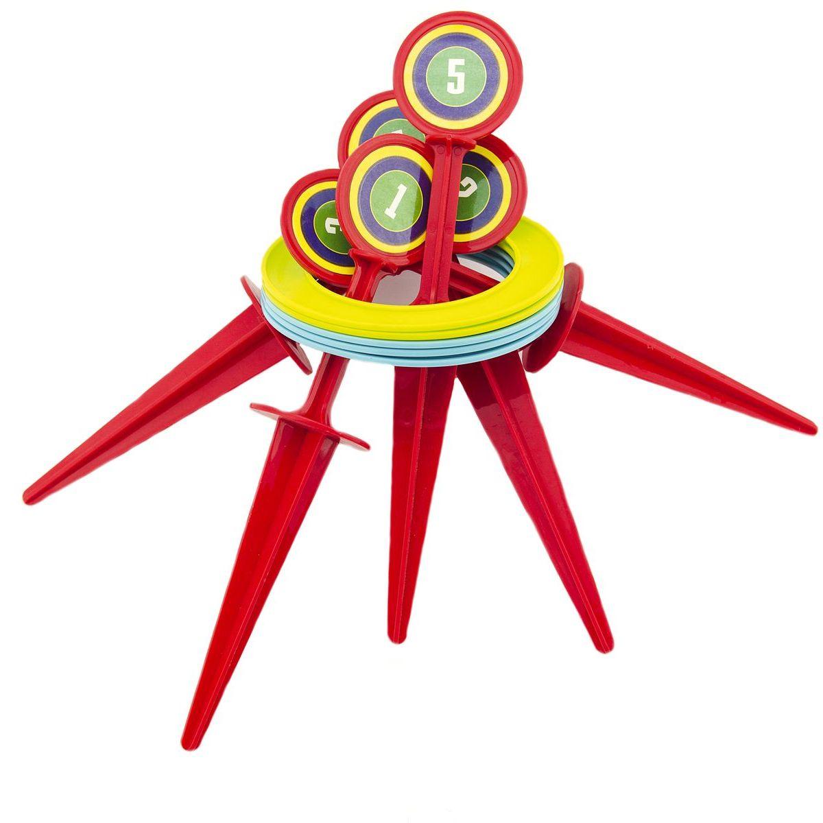 Hra házecí kroužky a kolíky 25cm
