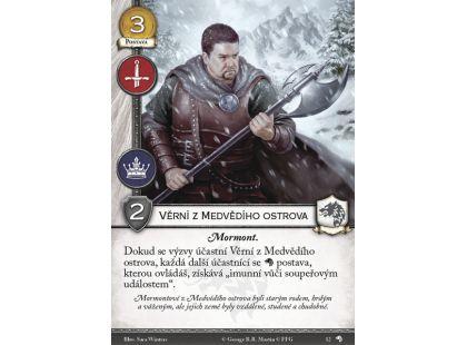 Hra o trůny LCG - Vlci severu - karetní hra