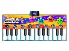 Hrací podložka - gigantické piáno