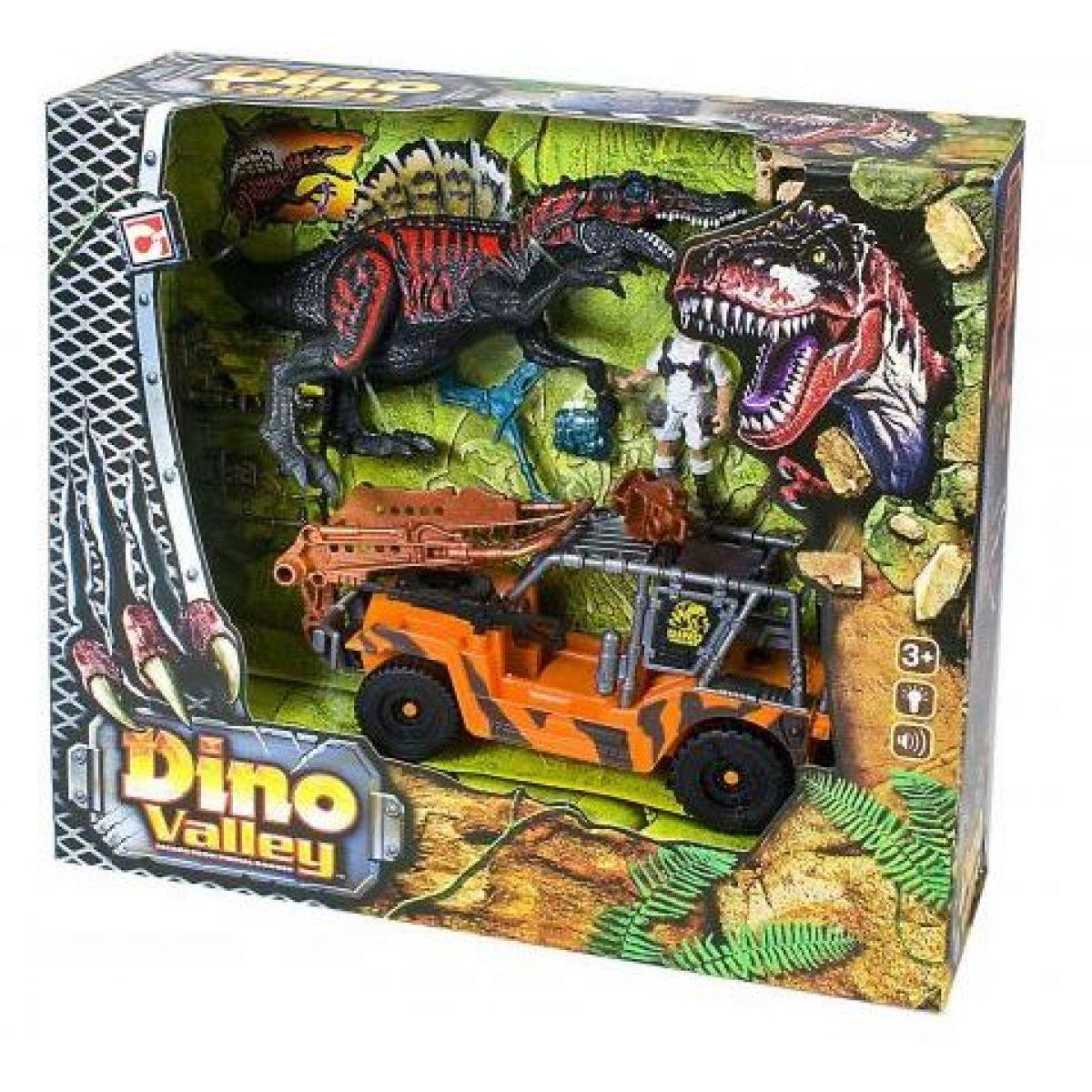 Hrací set lov na divokého dinosaura