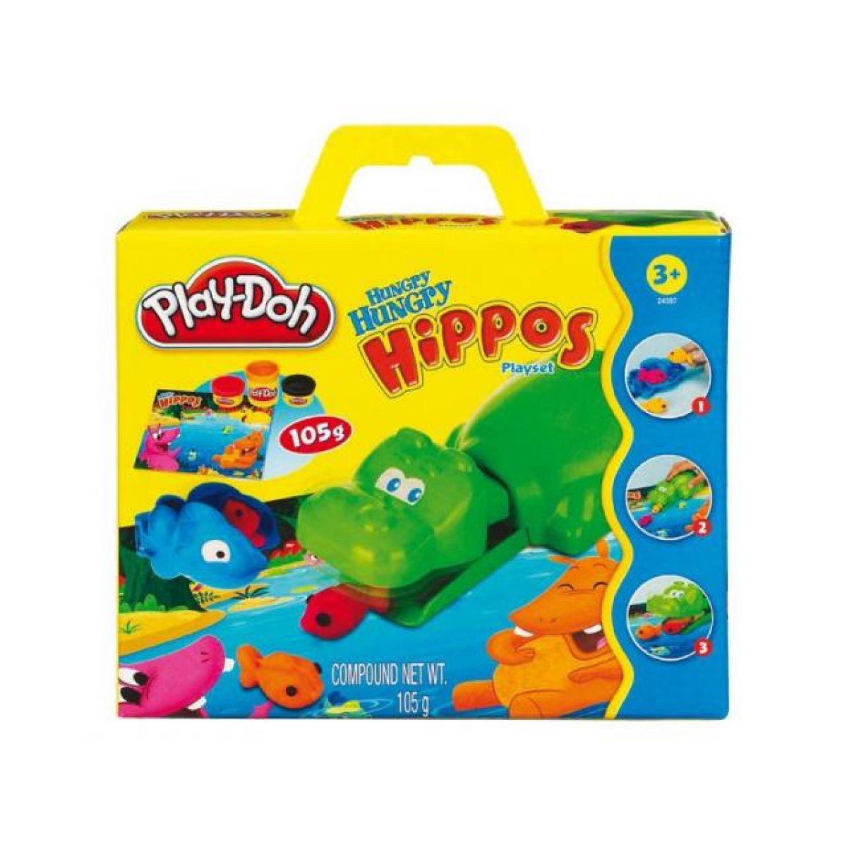 Hrací sety Hungry hippos, Mr. Potato head  Play Doh 24093