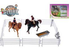 Hrací sada jezdci s koňmi