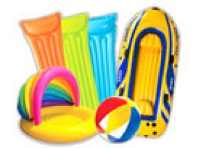 Hračky k vodě, nafukovací hračky Intex