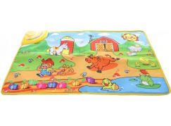 Hudební koberec Farma