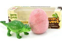 Hydrozaurus šumivé vejce a hračka Ankylosaurus