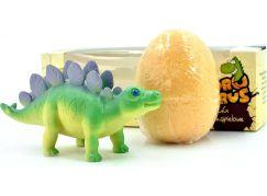 Hydrozaurus šumivé vejce a hračka Stegosaurus