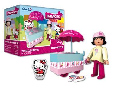 Igráček a Hello Kitty Zmrzlinářka s doplňky
